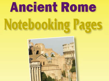 Ancient Rome Notebooking Pages