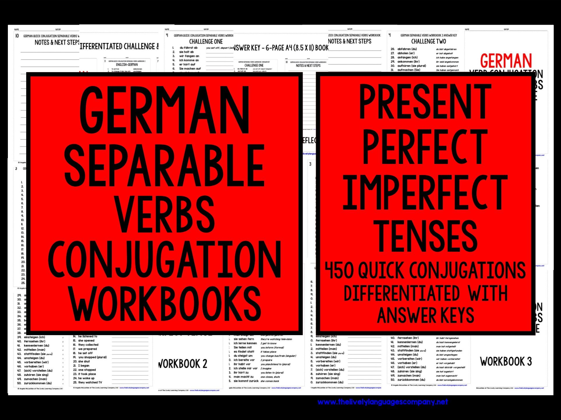 GERMAN SEPARABLE VERBS REVISION