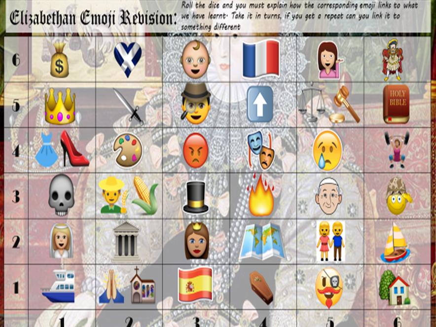 Elizabethan England: Emoji Revision