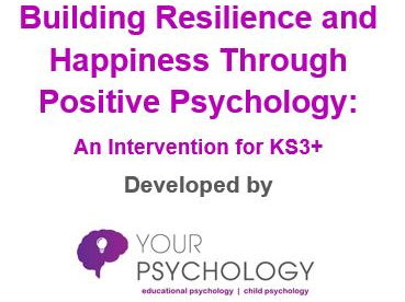 6-week Resilience Intervention Pack (KS3+)