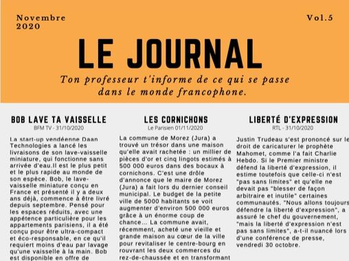 Le Journal 5