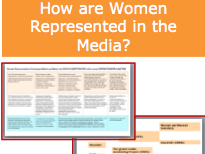 How are Women Represented by the Media  - GENDER Representation Sociology A-Level Mass media
