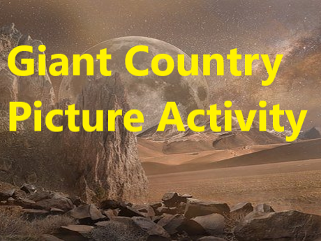 BFG Giant Country Drawing Activity