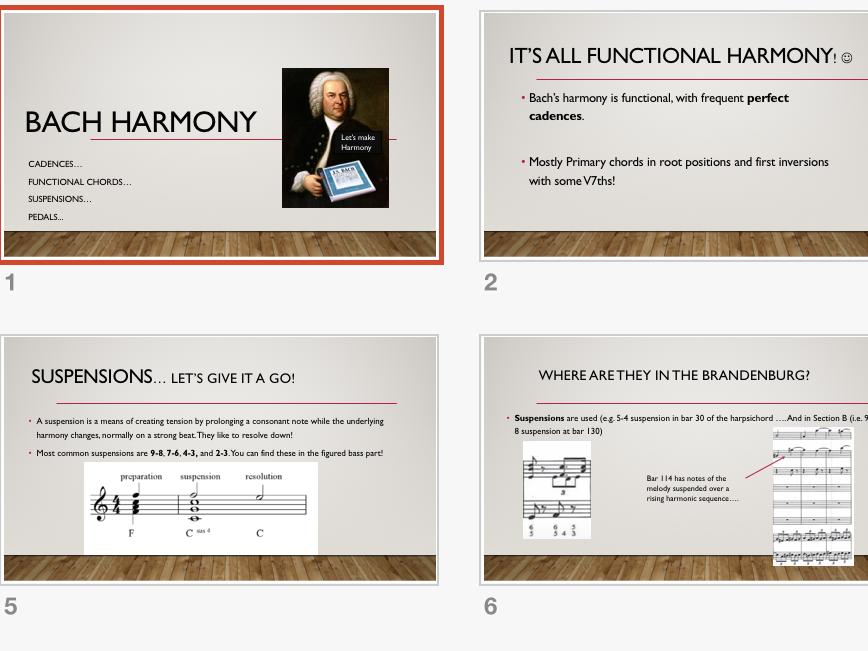 Music GCSE (9-1) Edexcel: AOS 1 Brandenburg Harmony