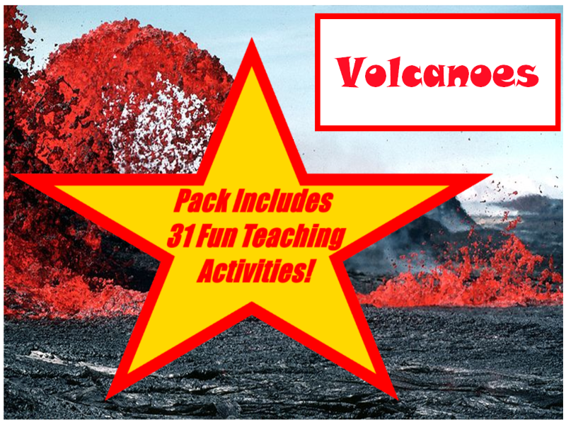32 Photos Of Volcanoes From Around The World + 31 Fun Teaching Activities To Try In The Classroom