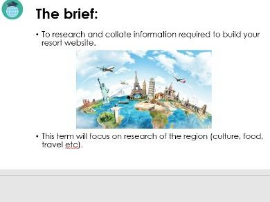 IT Research Project UNIT OF WORK (great for cover lessons)