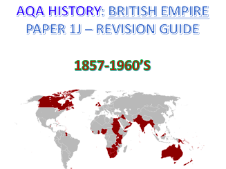 AQA History: British Empire AS/A2 Guide