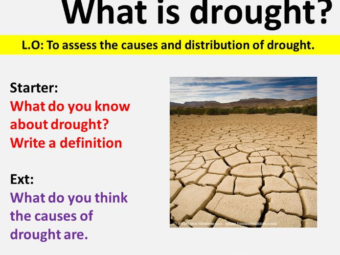 NEW OCR GCSE -Natural Hazards: Causes of drought
