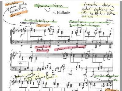 Brahms  - Ballade G minor Op. 118 No. 3