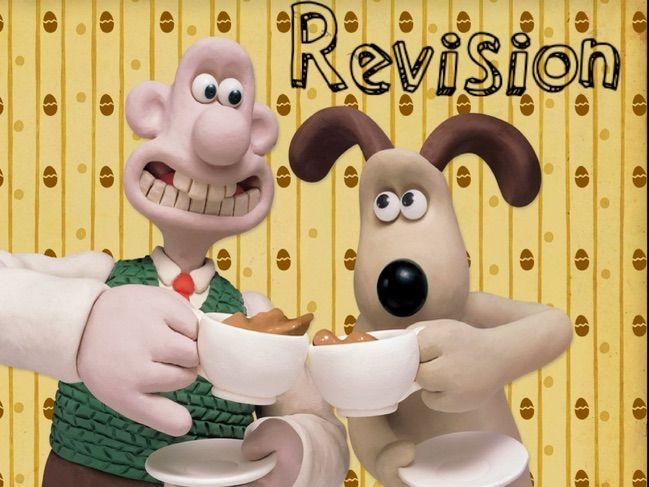 Wallace And Gromit: Say Cheese! Revision/Cover Lesson