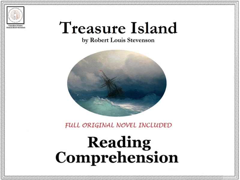 Treasure Island Reading Comprehension (Full Original Story Included)