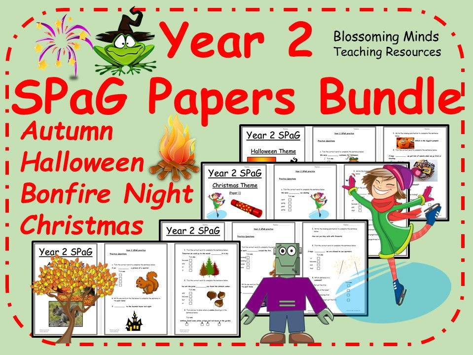 Year 2 SPaG Papers Term 1