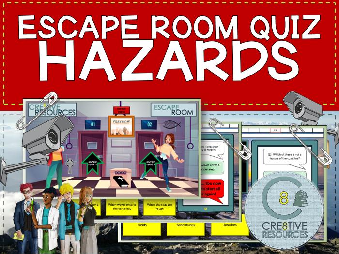 Hazards Escape Quiz - Geography