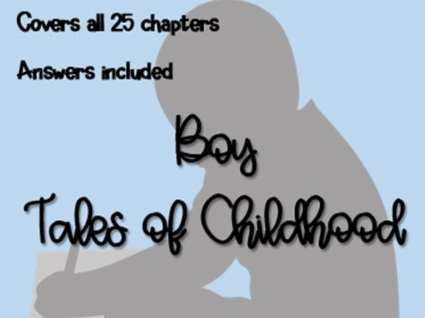 SAMPLE: Boy Tales of Childhood (Chapter Questions)