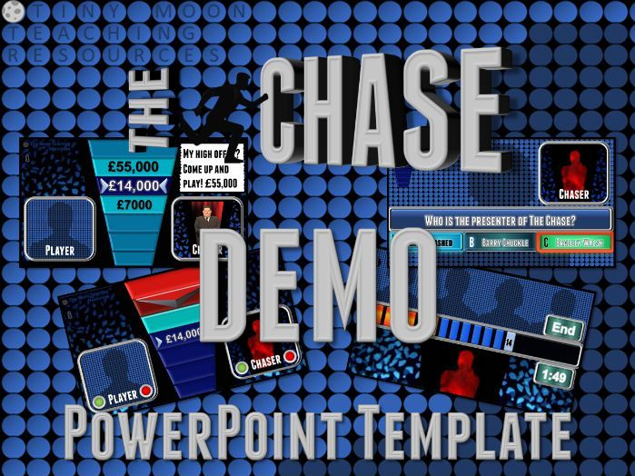 The Chase Customizable PowerPoint Template DEMO