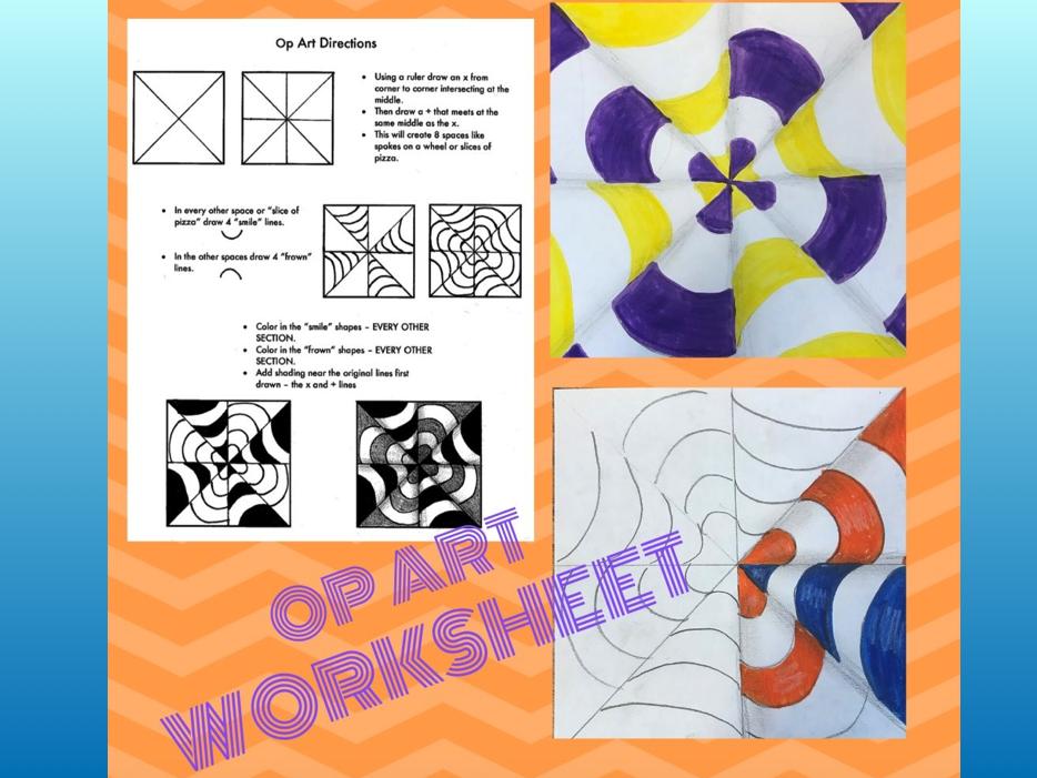 Op Art Worksheet