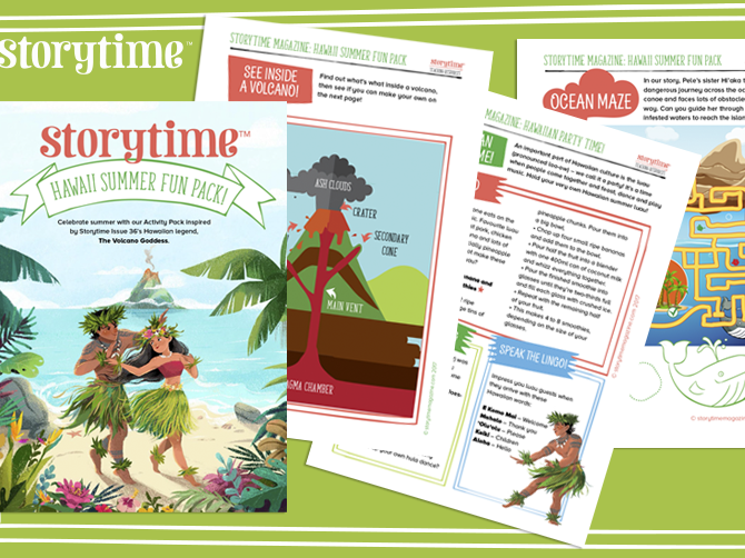 Storytime - Summer Fun Hawaii Pack