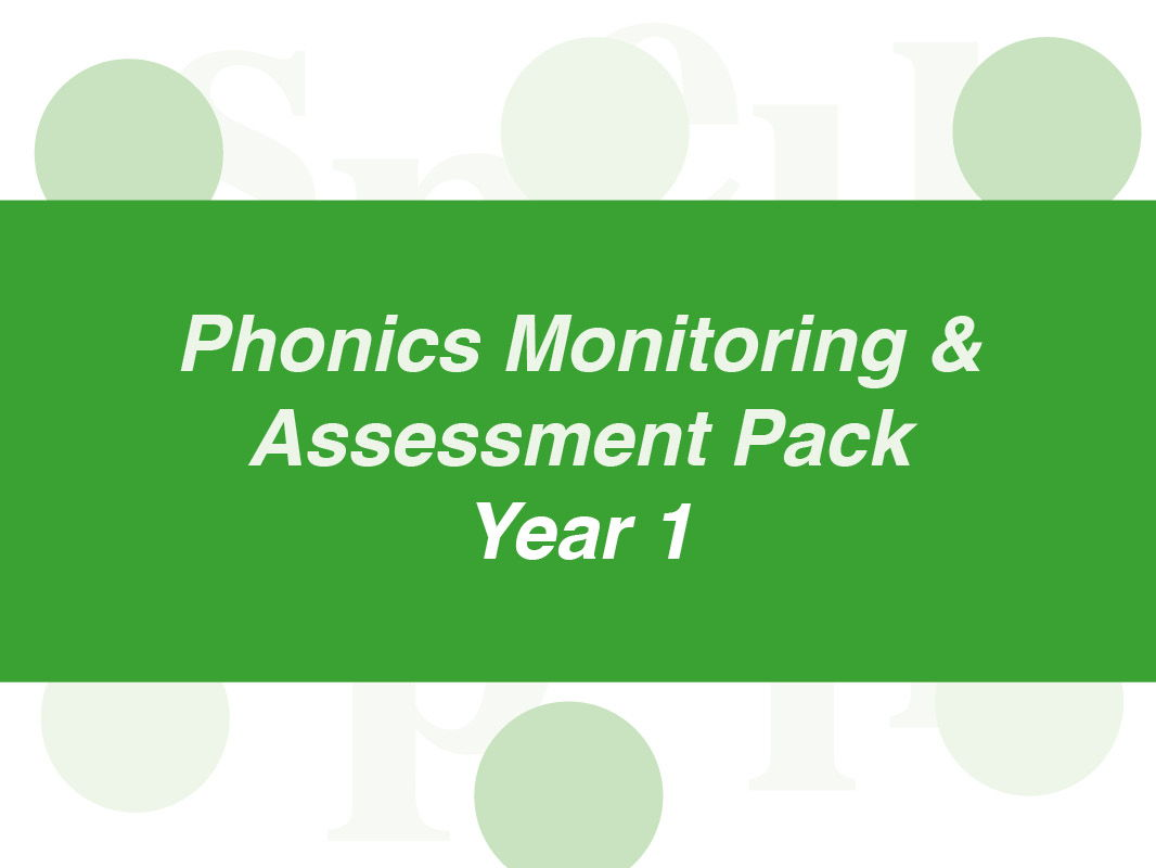 Complete Phonics Monitoring and Assessment Pack: Year 1