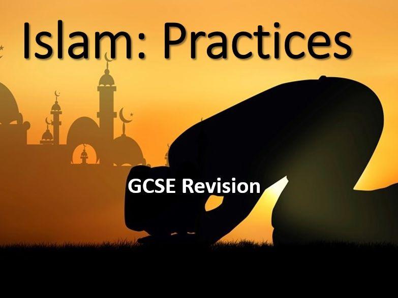 AQA Religious Studies GCSE Islam: Practices