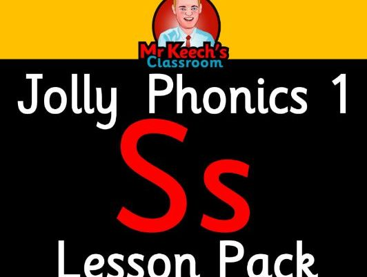 Phonics Worksheets, Lesson Plan, Flashcards | Jolly Phonics Letter S Lesson Pack