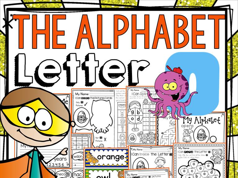 PHONICS: THE ALPHABET {LETTER O}