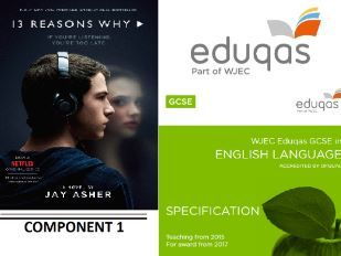 EDUQAS style Lang C1 reading paper- 13 Reasons Why- Jay Asher