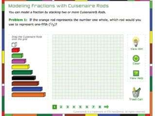 Fractions Models with Cuisenaire Rods
