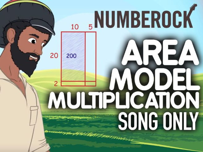 2-Digit by 2-Digit Multiplication: Area Model Multiplication Song