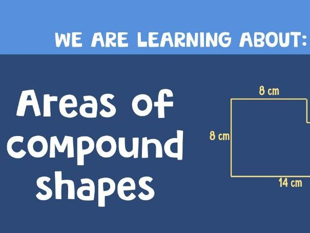 Areas of compound shapes (complete lesson)