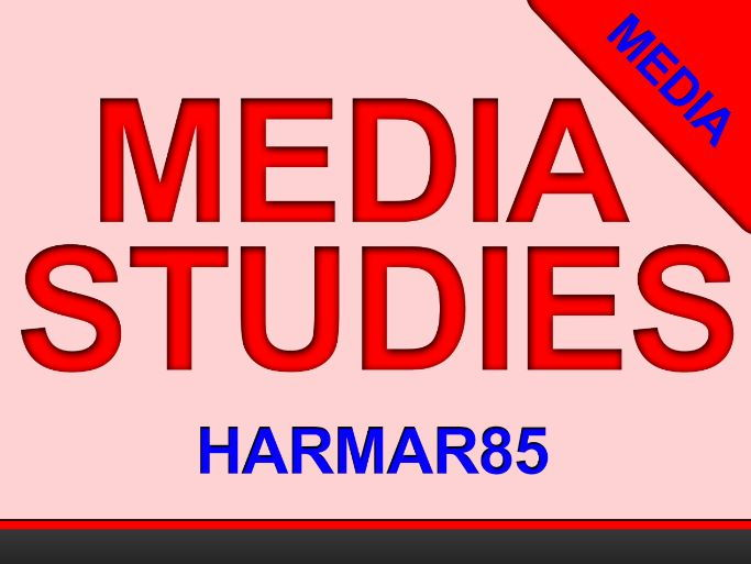 INDIVIDUAL LESSON - MEDIA LANGUAGE - Symbolic codes (connotation and denotation) - GCSE