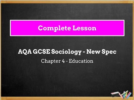 Lessons 6, 7 & 8 - Types of Schools