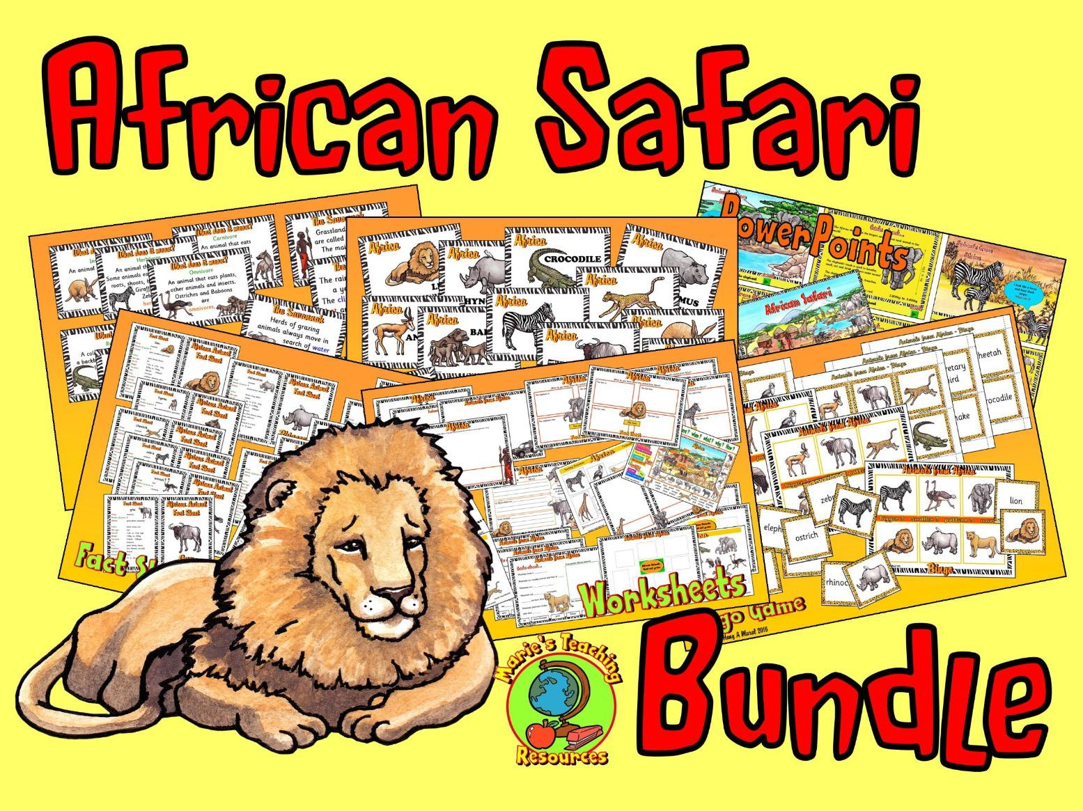 African Safari Bundle