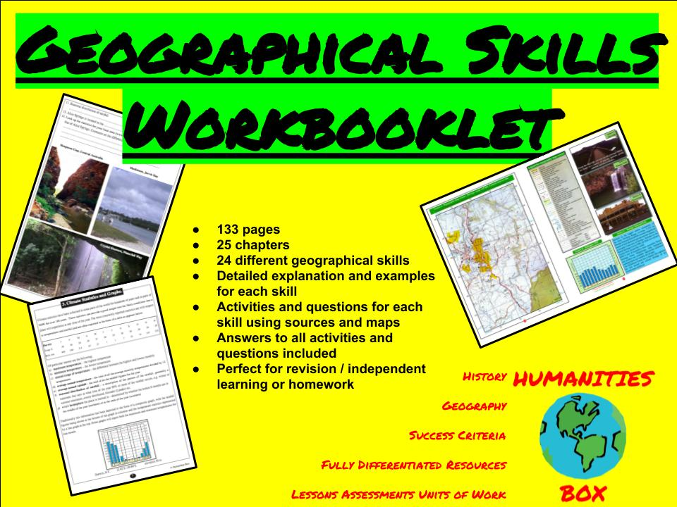 Geography Map Skills Booklet