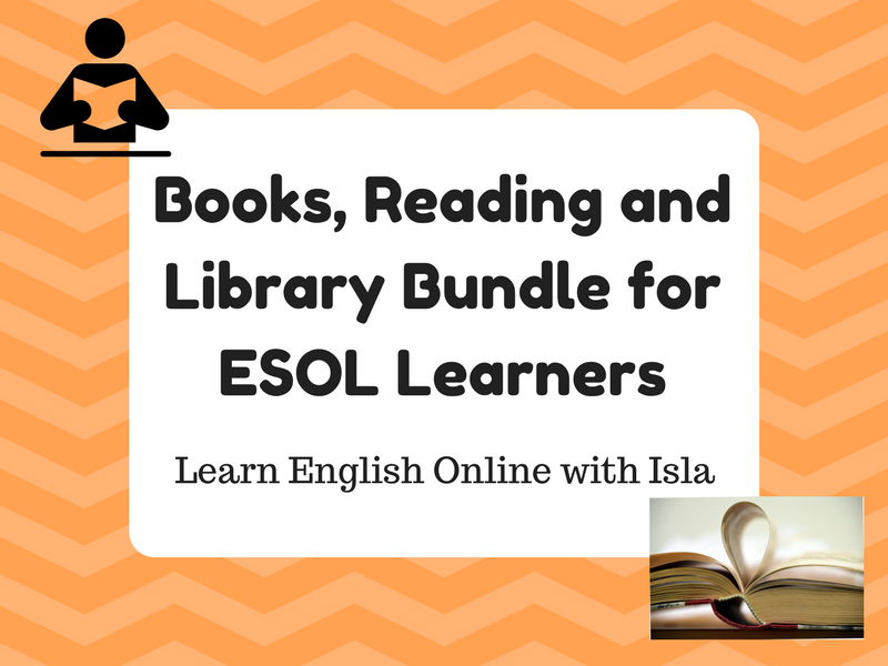 Introduction to Books and Reading Bundle (ESOL/ESL/EAL/EFL)