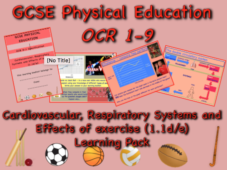 Cardiovascular, Respiratory Systems and Effects of Exercise GCSE OCR PE (1.1d/e)
