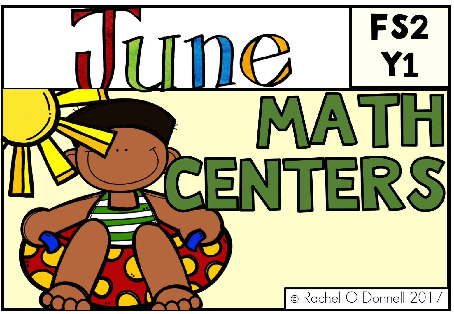 June Maths Centers FS2 Year 1