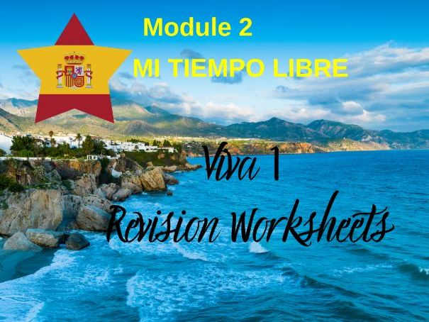 SPANISH Viva 1 Module 2 Worksheets