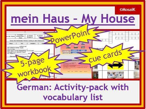German my house mein Haus