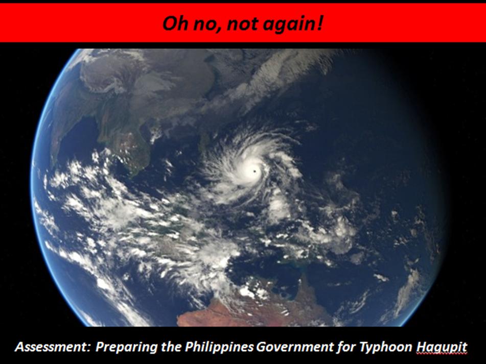 Tropical Storm assessment: Typhoon Hagupit