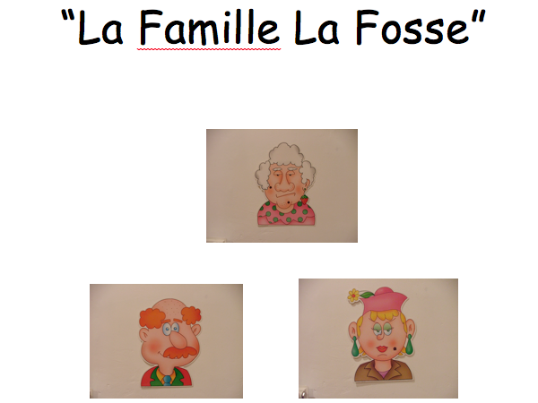 French: Family and adjectives Yr 7 Up