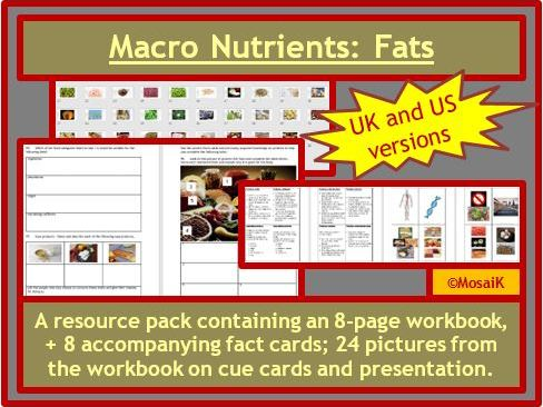 Macro Nutrients Fats
