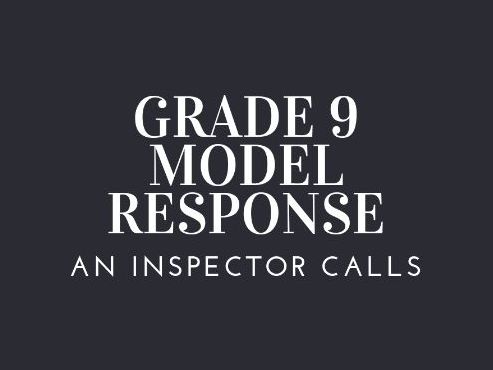 GRADE 9 MODEL INSP GOOLE IMPORTANCE WITH FREE PLAN
