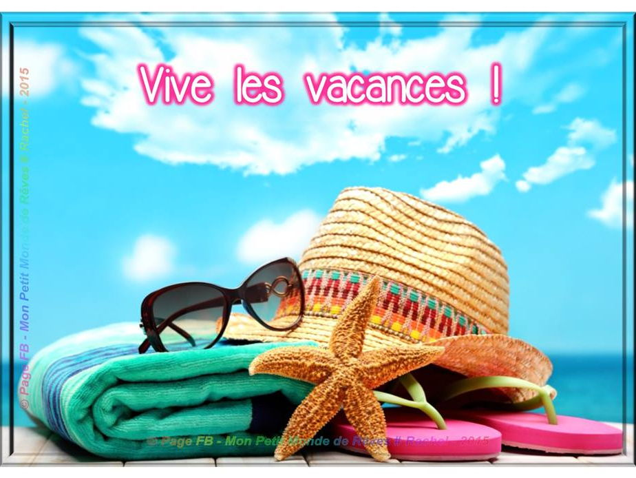 Les vacances - present, past and future