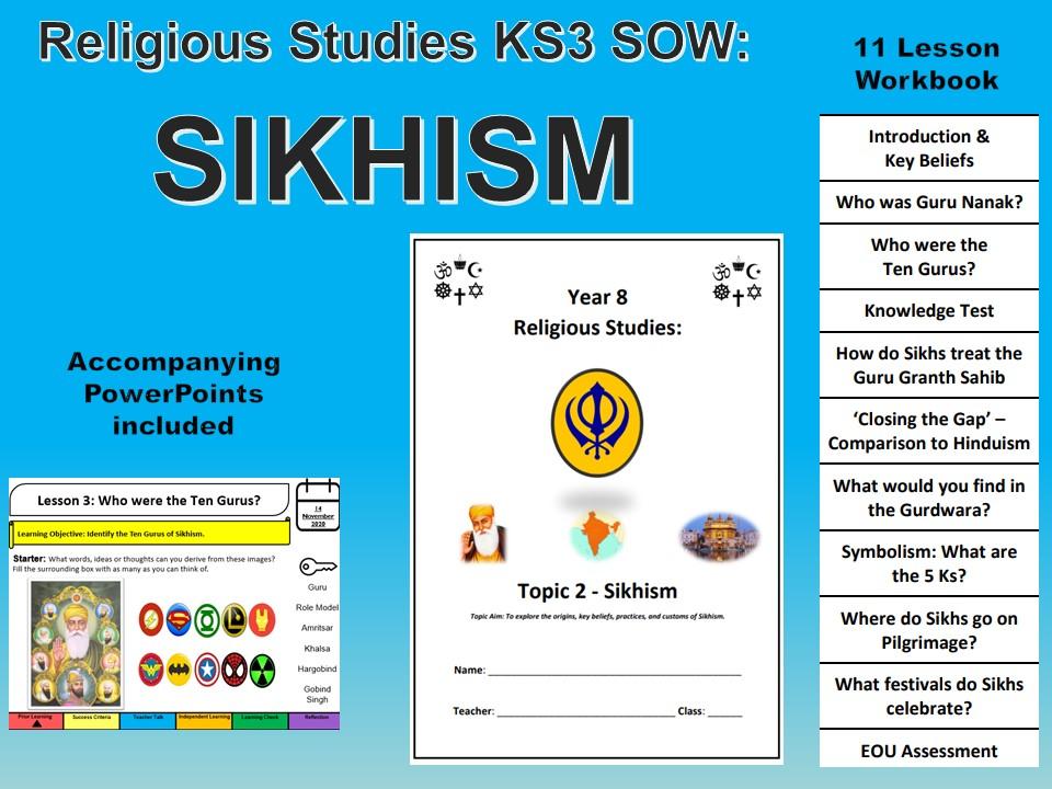 Sikhism full SOW/PP Workbook