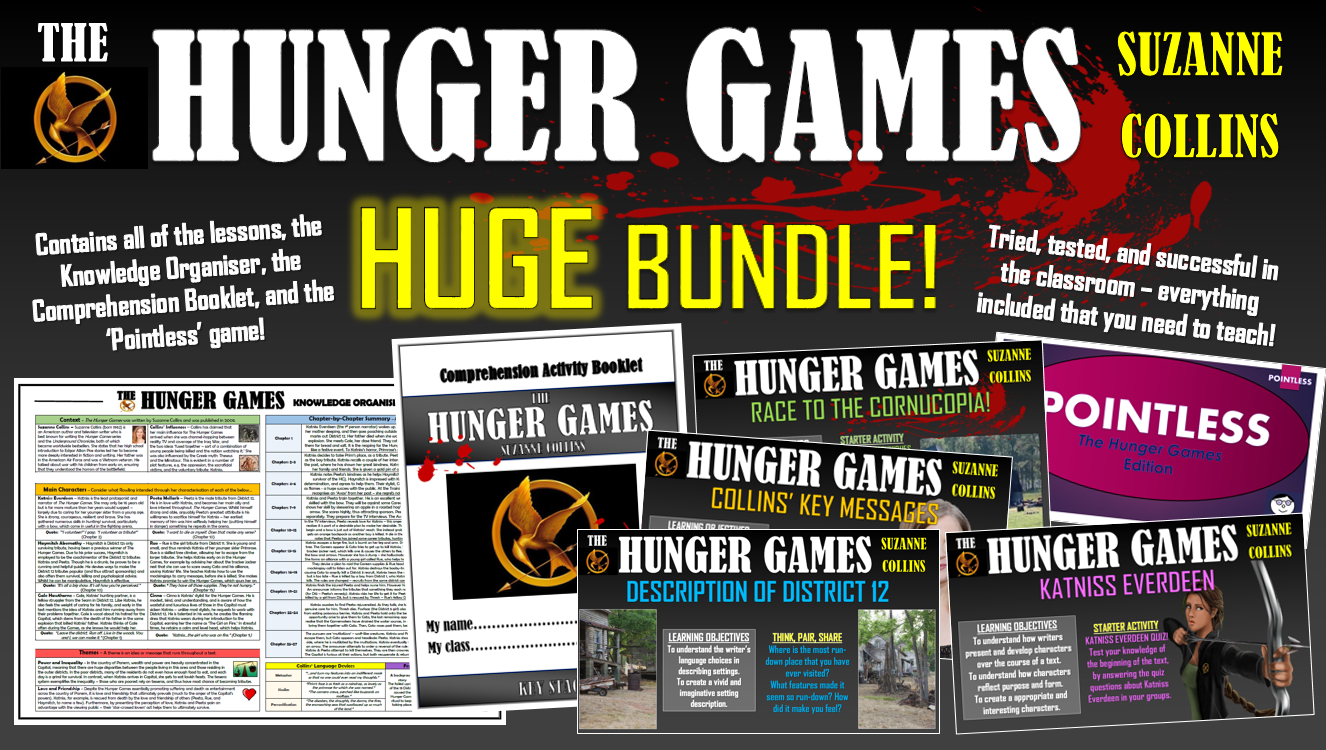 The Hunger Games Huge Bundle!