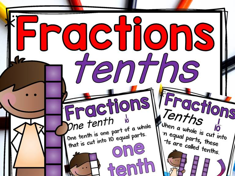 Fractions: Wholes and Tenths