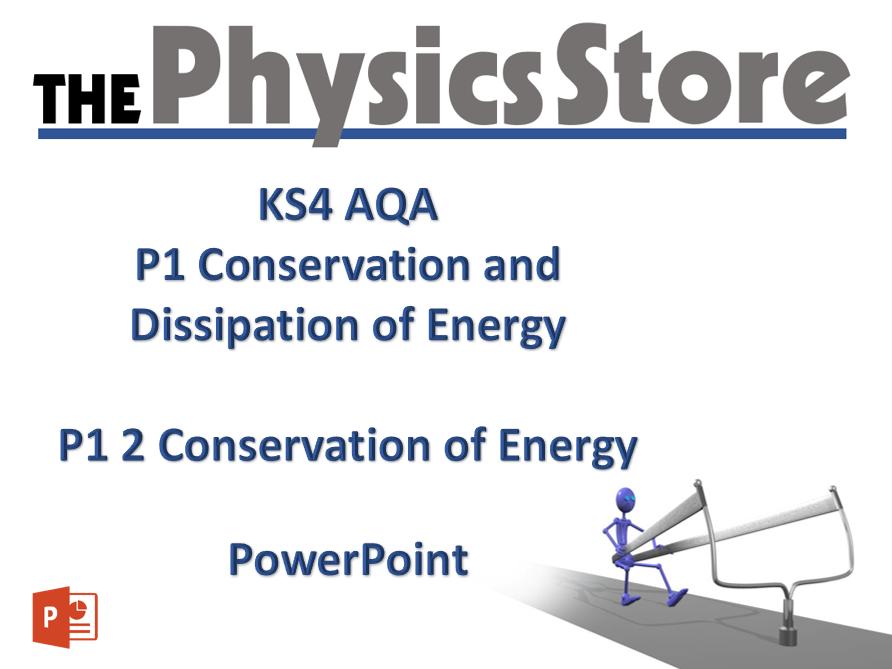 KS4 GCSE Physics AQA P1 3 Energy and Work