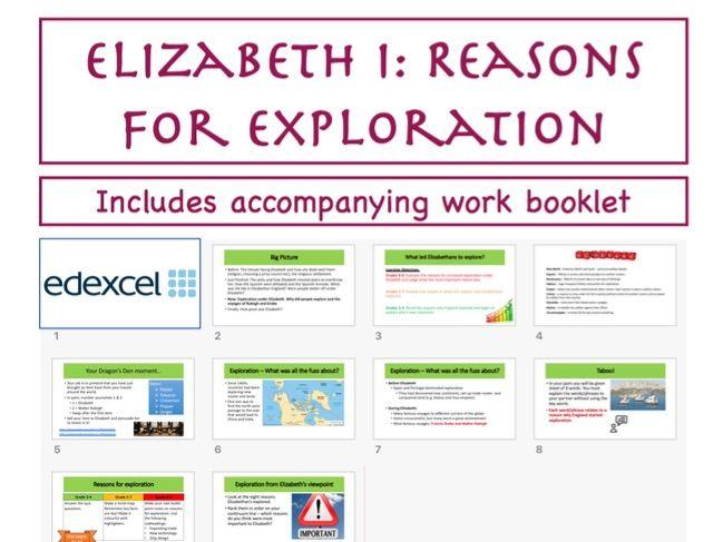 GCSE Elizabeth I: Reasons for exploration