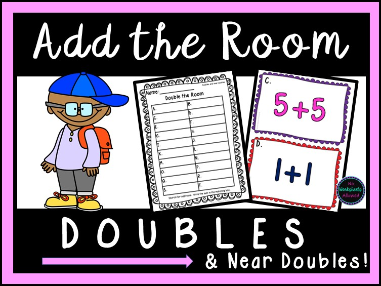 Doubles and Near Doubles Activity