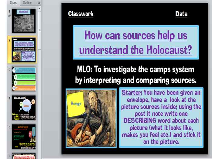 Concentration Camps and Holocaust